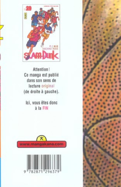 Dos slam dunk tome 29