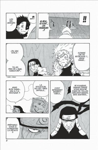 Page 9 naruto tome 14