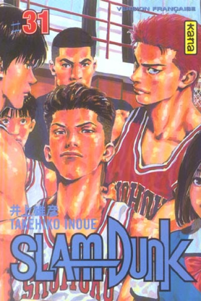 Couverture slam dunk tome 31