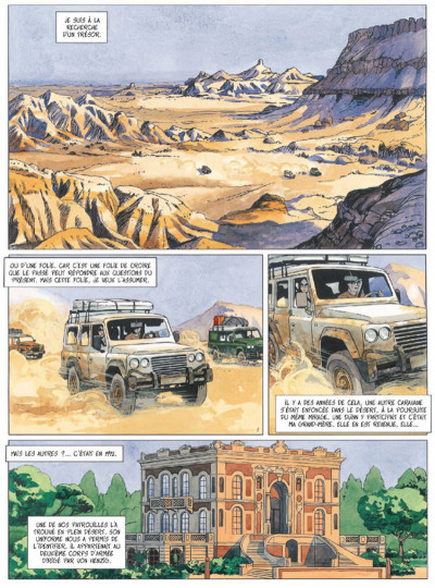 Page 1 djinn tome 4 - le trésor