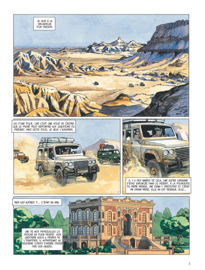 Page 3 djinn tome 4 - le trésor
