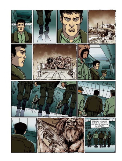 Page 1 la compagnie des glaces - cycle jdrien tome 5 - jdrou