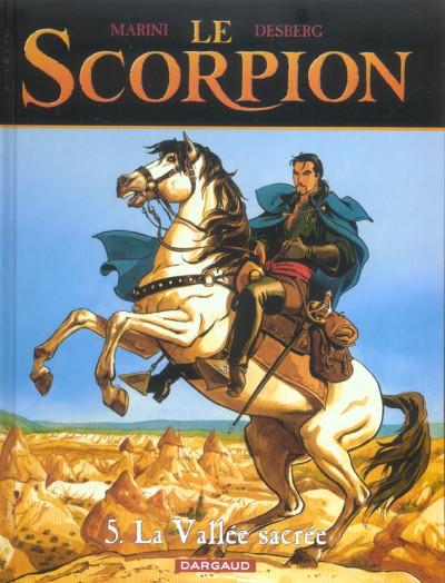 Couverture le scorpion tome 5 - la vallée sacrée