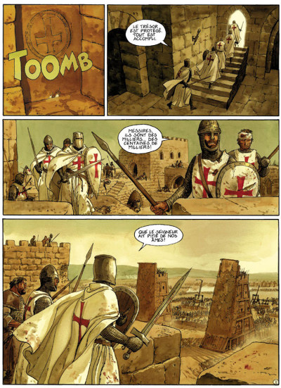 Page 3 le scorpion tome 5 - la vallée sacrée