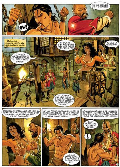 Page 4 le scorpion tome 5 - la vallée sacrée