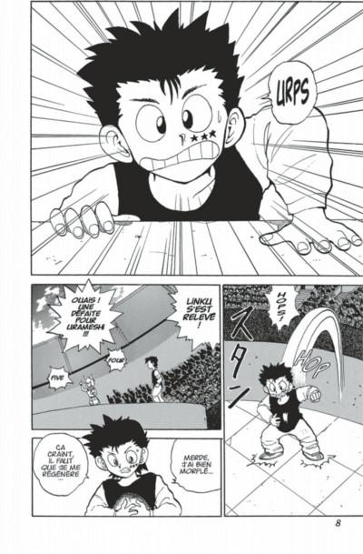 Page 8 yuyu hakusho tome 7
