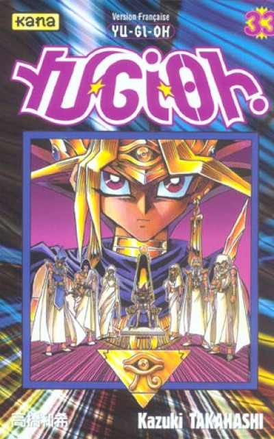 Couverture yu-gi-oh tome 33