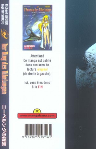 Dos L'anneau des nibelungen tome 3