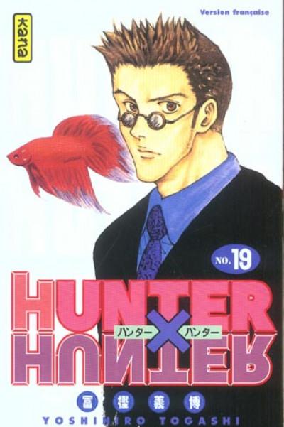 Couverture hunter x hunter tome 19