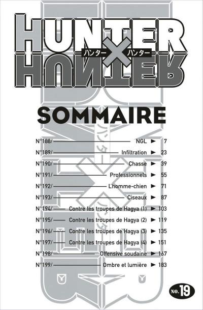 Page 6 hunter x hunter tome 19