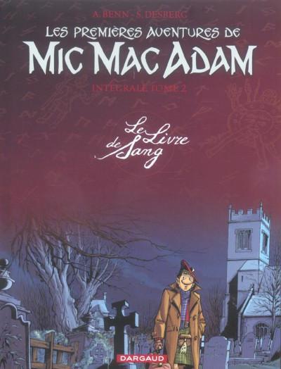 image de mic mac adam - intégrale tome 2 - le livre de sang