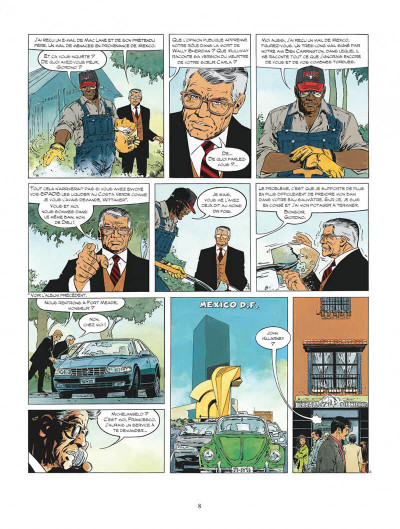 Page 8 xiii tome 17 - l'or de maximilien