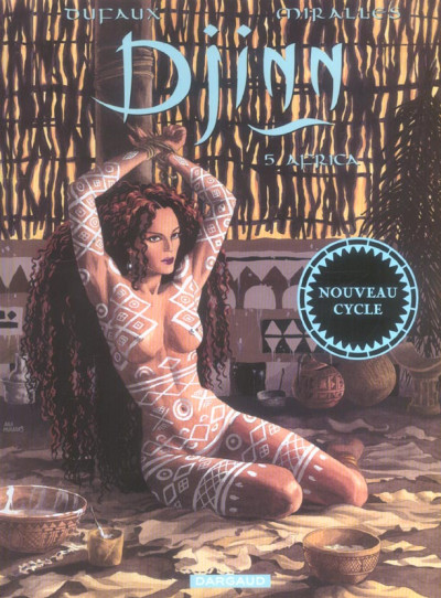 Couverture djinn tome 5 - africa