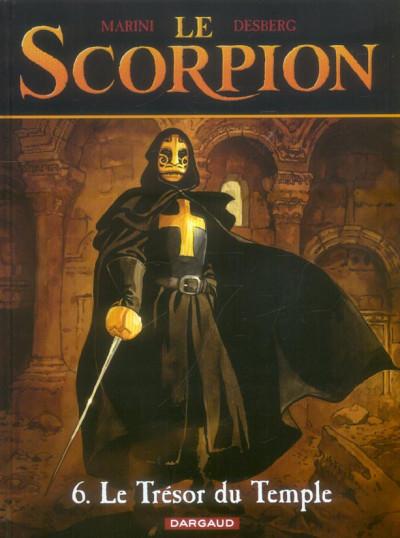 Couverture le scorpion tome 6 - le trésor du temple
