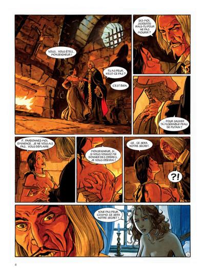 Page 2 le scorpion tome 6 - le trésor du temple