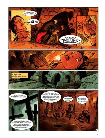 Page 3 le scorpion tome 6 - le trésor du temple