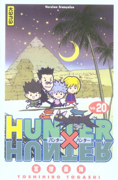 Couverture hunter x hunter tome 20