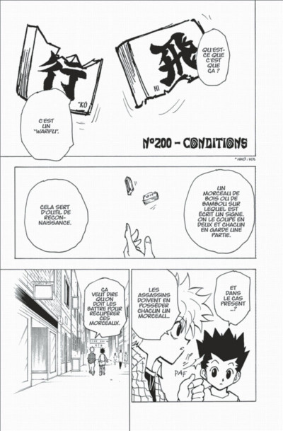 Page 7 hunter x hunter tome 20