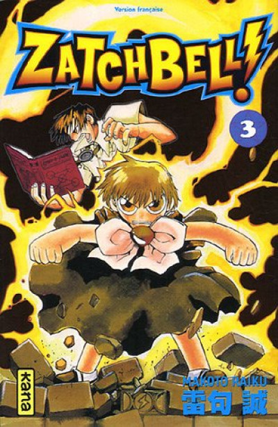 Couverture zatchbell tome 3