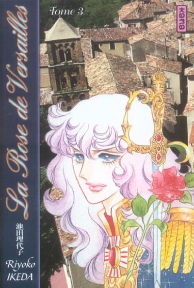 Couverture la rose de versailles (lady oscar) tome 3