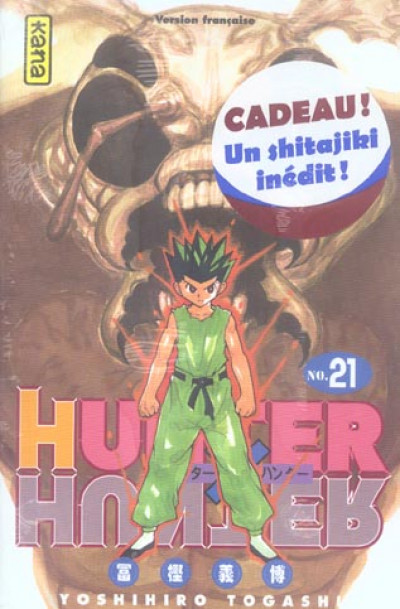 Couverture hunter x hunter tome 21