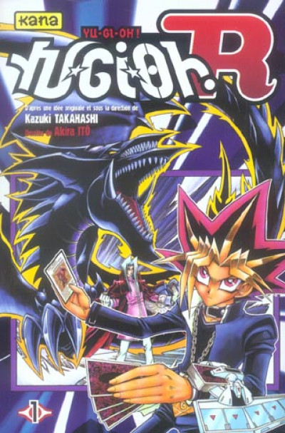 Couverture yu-gi-oh r tome 1