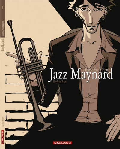 Couverture jazz maynard tome 1 - home sweet home