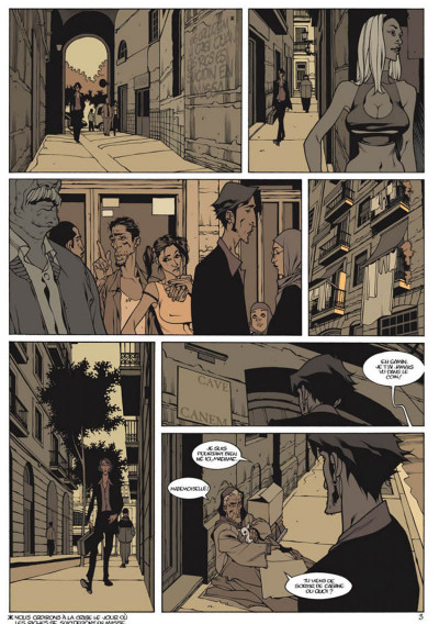 Page 3 jazz maynard tome 1 - home sweet home