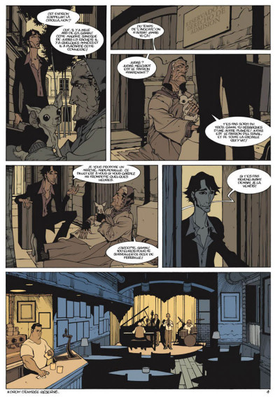 Page 4 jazz maynard tome 1 - home sweet home