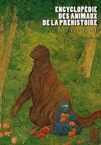 Couverture encyclopédie des animaux de la préhistoire
