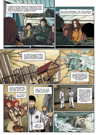 Page 2 la compagnie des glaces - cycle cabaret miki tome 2 - otage des glaces