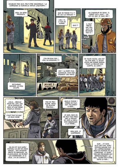 Page 3 la compagnie des glaces - cycle cabaret miki tome 2 - otage des glaces