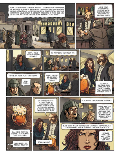 Page 4 la compagnie des glaces - cycle cabaret miki tome 2 - otage des glaces