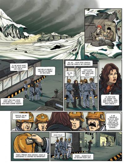 Page 5 la compagnie des glaces - cycle cabaret miki tome 2 - otage des glaces