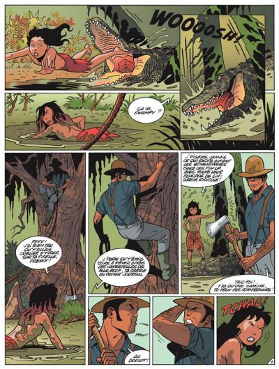 Page 2 poison ivy tome 1 - fleur de bayou