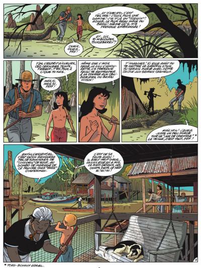 Page 3 poison ivy tome 1 - fleur de bayou