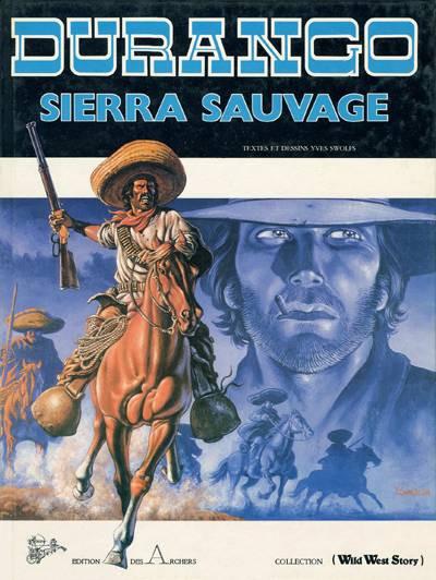 Couverture Durango tome 5 (éd. 1985)
