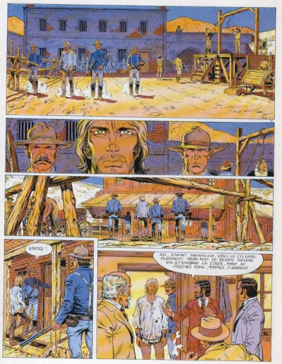 Page 1 Durango tome 5 (éd. 1985)