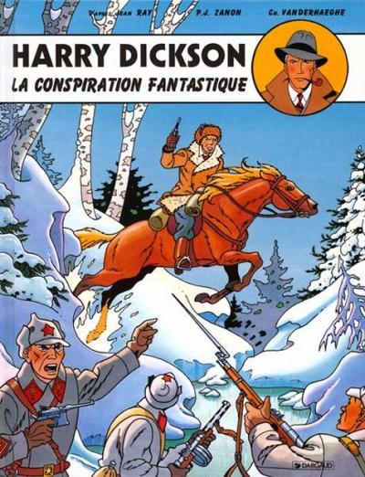 Couverture harry dickson tome 6 - la conspiration fantastique