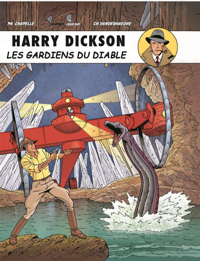 Couverture Harry Dickson tome 10