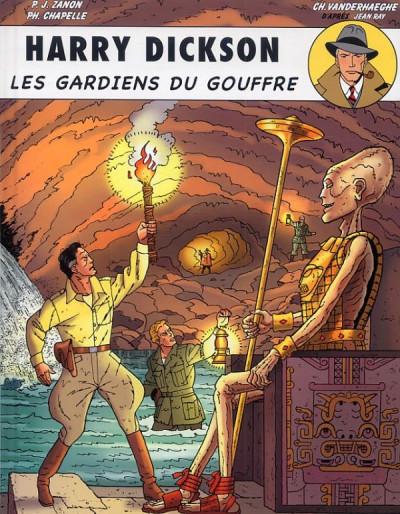 image de Harry Dickson tome 9 - les gardiens du gouffre