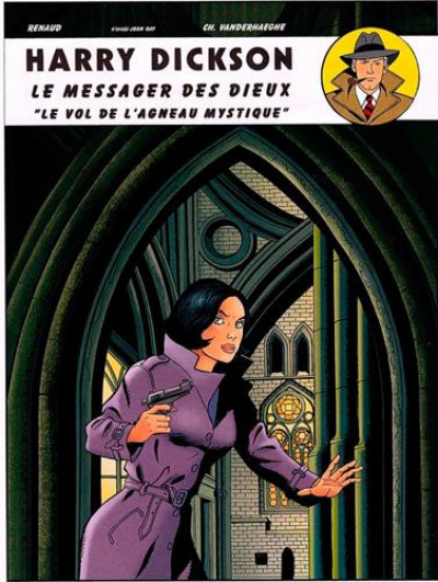 Couverture Harry Dickson tome 11