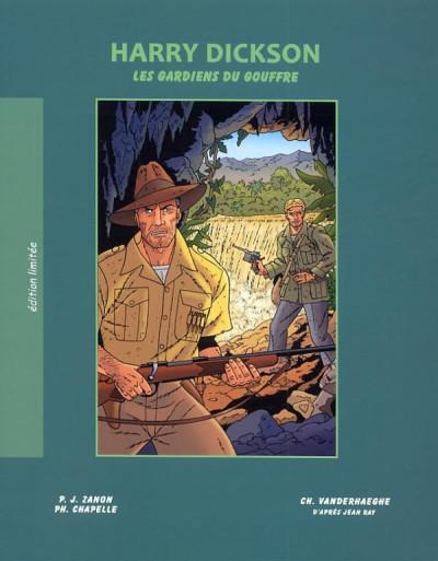 image de Harry Dickson tome 9 - les gardiens du gouffre (édition spéciale)