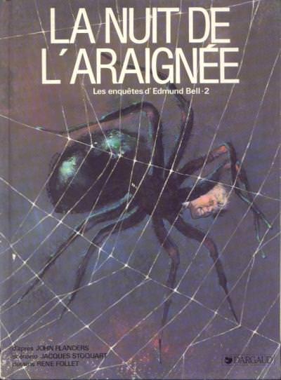 image de edmund bell tome 2 - la nuit de l'araignee
