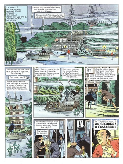 Page 1 Arsène Lupin tome 1 - bouchon