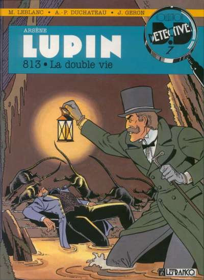 Couverture Arsène Lupin tome 2 - double vie