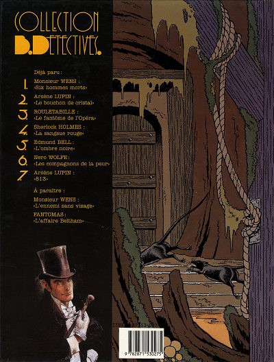 Dos Arsène Lupin tome 2 - double vie