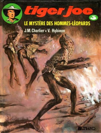 Couverture Tiger Joe tome 3 - Le mystère des hommes léopards