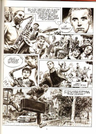 Page 1 Le yankee tome 1 - sombre mardi gras