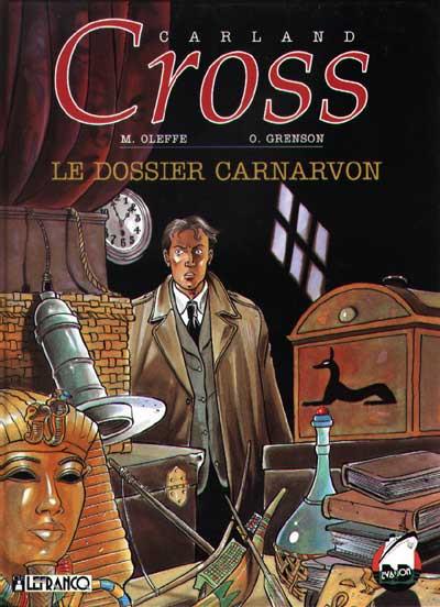Couverture Carland Cross tome 2 - le dossier carnarvon